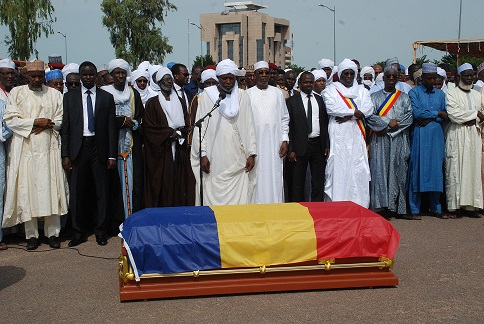 Le président Idriss Déby Itno sera inhumé le vendredi 23 avriĺ 2021