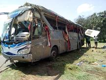13 morts et 23 blessés dans un accident de route à la Loumia 1