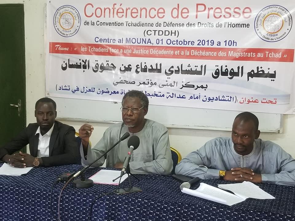 La Ctddh se préoccupe de la déconfiture du système judiciaire Tchadien 1