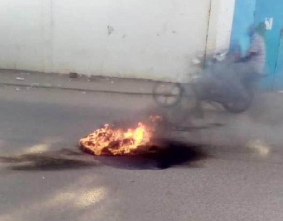 Manifestation des étudiants de l'université de N'Djaména 1