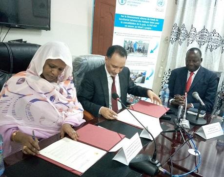 Le Tchad et la Fao signent un protocole d'accord de lutte contre le criquet pèlerin