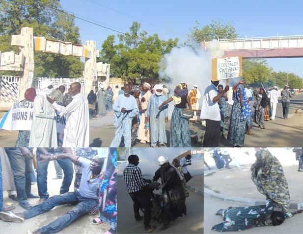 Cinq victimes du régime Habré gravement asphyxiés par des lacrymogènes 1