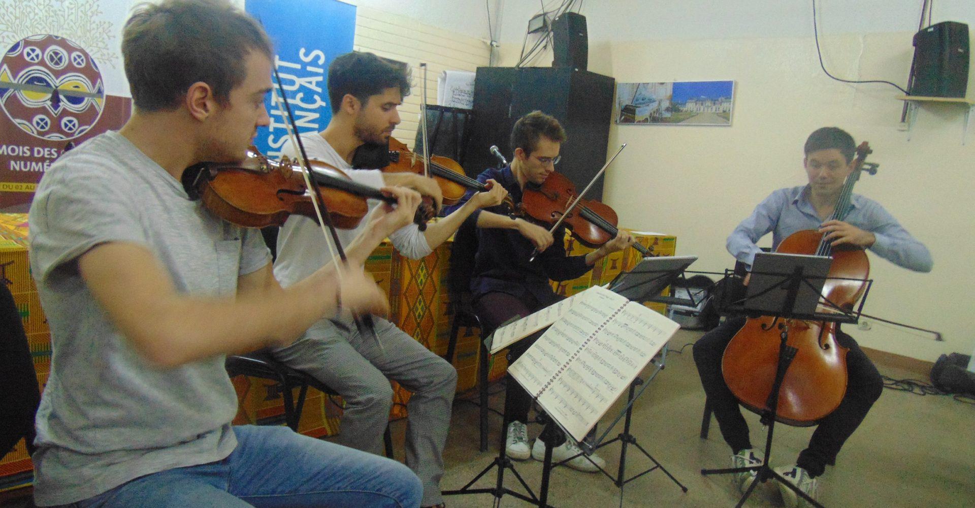 Le groupe ''Quatuor Yako ''séjourne à N'Djamena 1