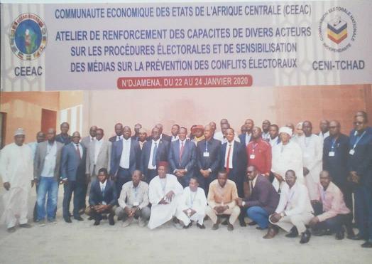 La Ceeac forme plusieurs acteurs sur la prévention des conflits électoraux au Tchad