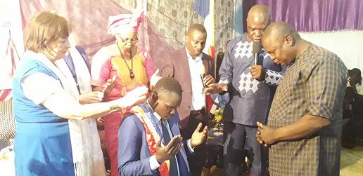 Centenaire de Foursquare Tchad, Natoi-Allah intronisé Bishop