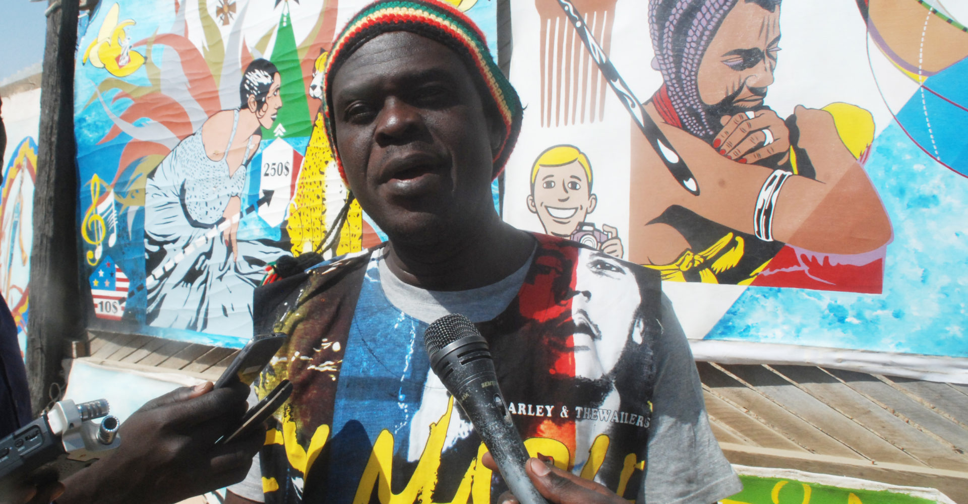 Ahipigfa expose les portraits des leaders d'Afrique et de la diaspora 1