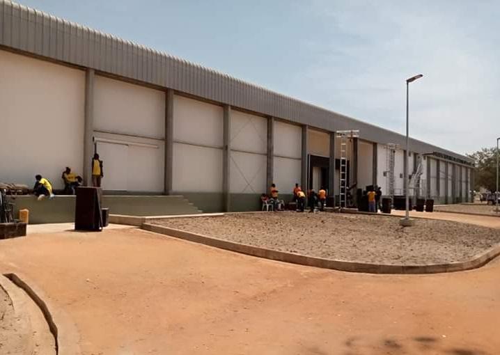Idriss Déby inaugure le complexe industriel des abattoirs du Logone 1