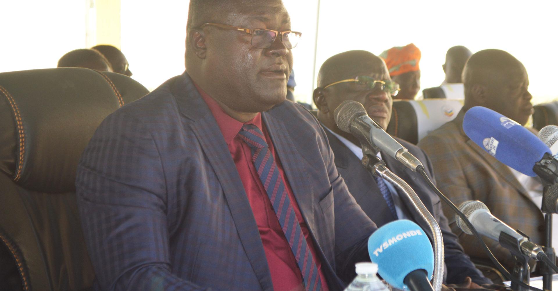 « Le chronogramme a requis l'adhésion du Chef de l'Etat », vice-président de la Céni Jean-Luc Bénodjita Auguste 1