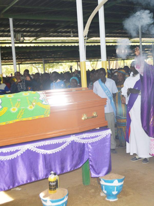 Mopi Célestine, ''martyre de la foi''