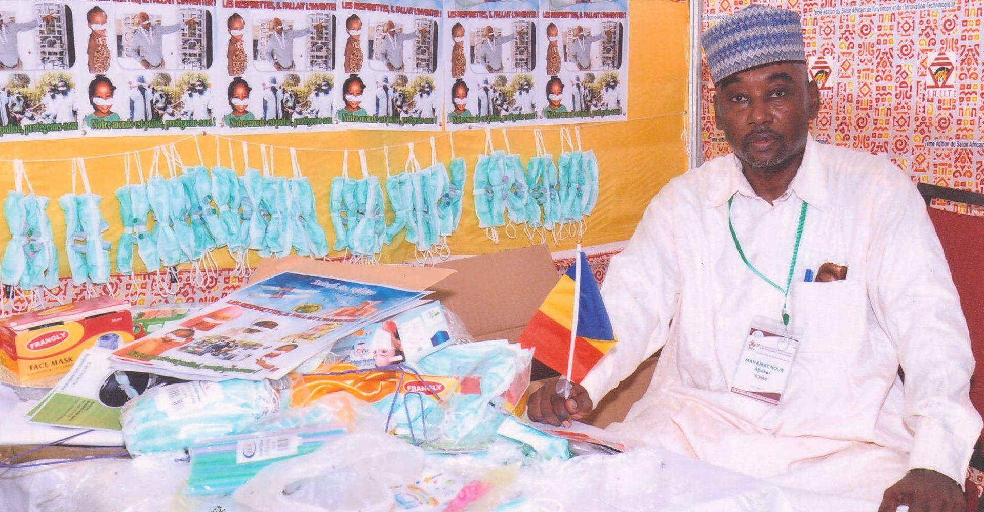 Respirnettes, une invention tchadienne pour lutter contre le Coronavirus 1