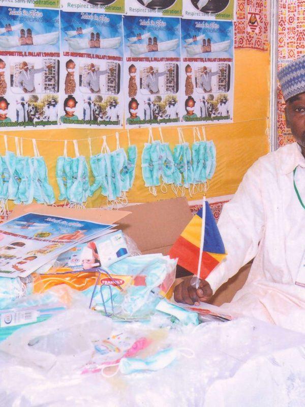 Respirnettes, une invention tchadienne pour lutter contre le Coronavirus