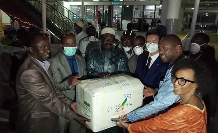 La Chine offre des kits à l'Etat tchadien 1