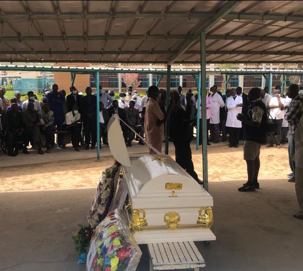 Les adieux au premier psychiatre Tchadien