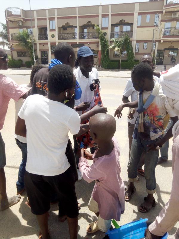 Covid 19: Kaarkaasson vole au secours de la population tchadienne