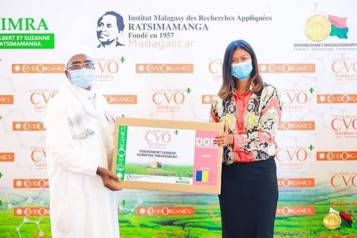 Le Tchad a reçu du Covid Organics de Madagascar 1