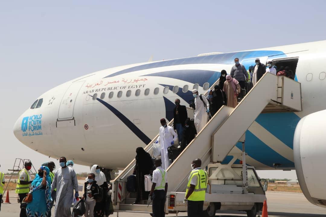 300 Tchadiens rapatries d'Egypte 1