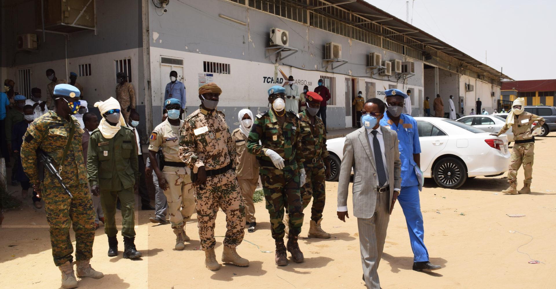 Le Dg des douanes visite ses différents services pour s'assurer du respect des mesures contre le Covid-19 1