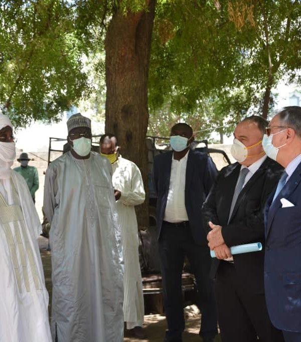 La Covid-19: la France appuie la commune de N'Djamena