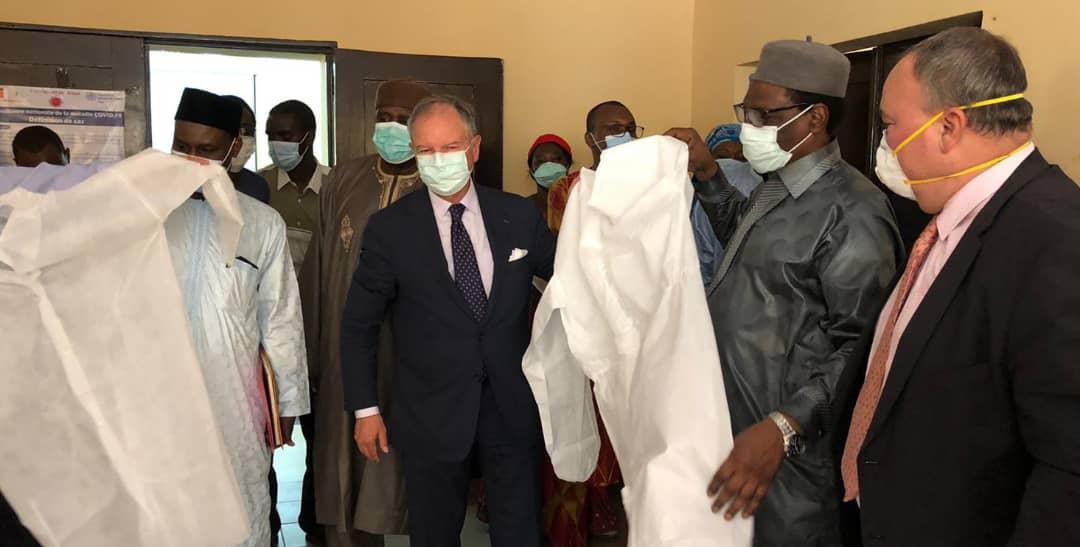 L'Afd octroie de matériels médicaux au ministère de la santé 1