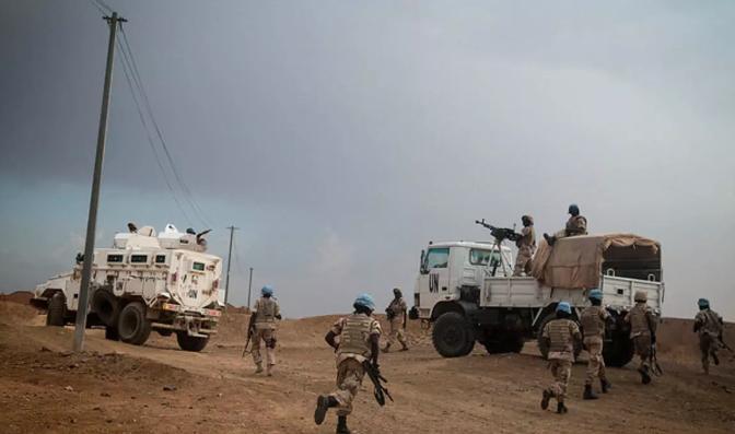 3 Casques bleus tchadiens tués et 4 autres blessés dans une attaque à Aguelhok 1