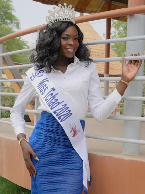 Miss Tchad 2020 donne enfin de ses nouvelles