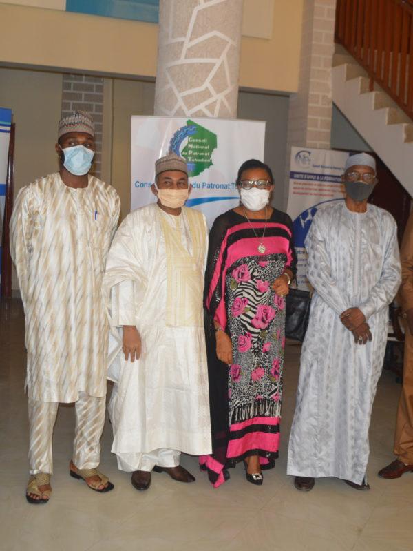 Le Cnpt a reçu la visite du représentant du port autonome de Douala