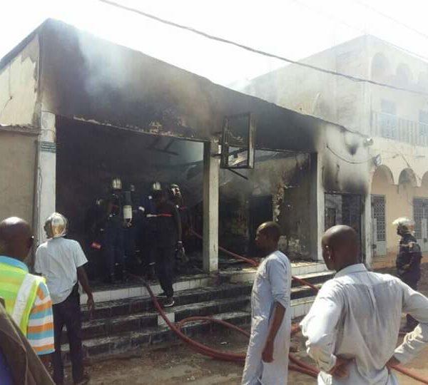 Le Bar Black & White de Kabalaye ravagé par un incendie