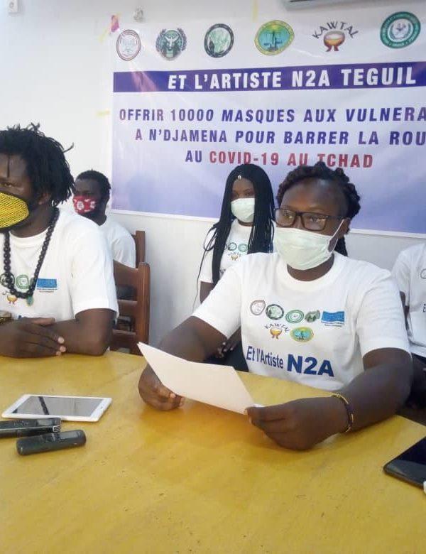 Le Csapr offre  10. 000 masques aux personnes vulnérables