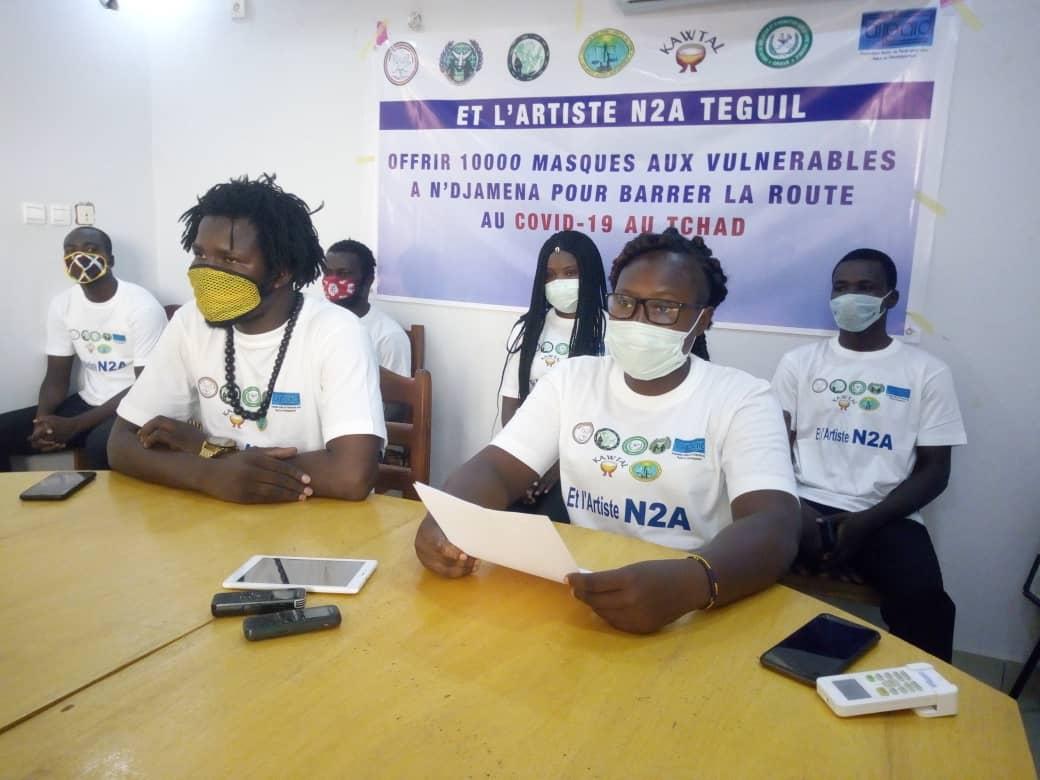 Le Csapr offre  10. 000 masques aux personnes vulnérables 1