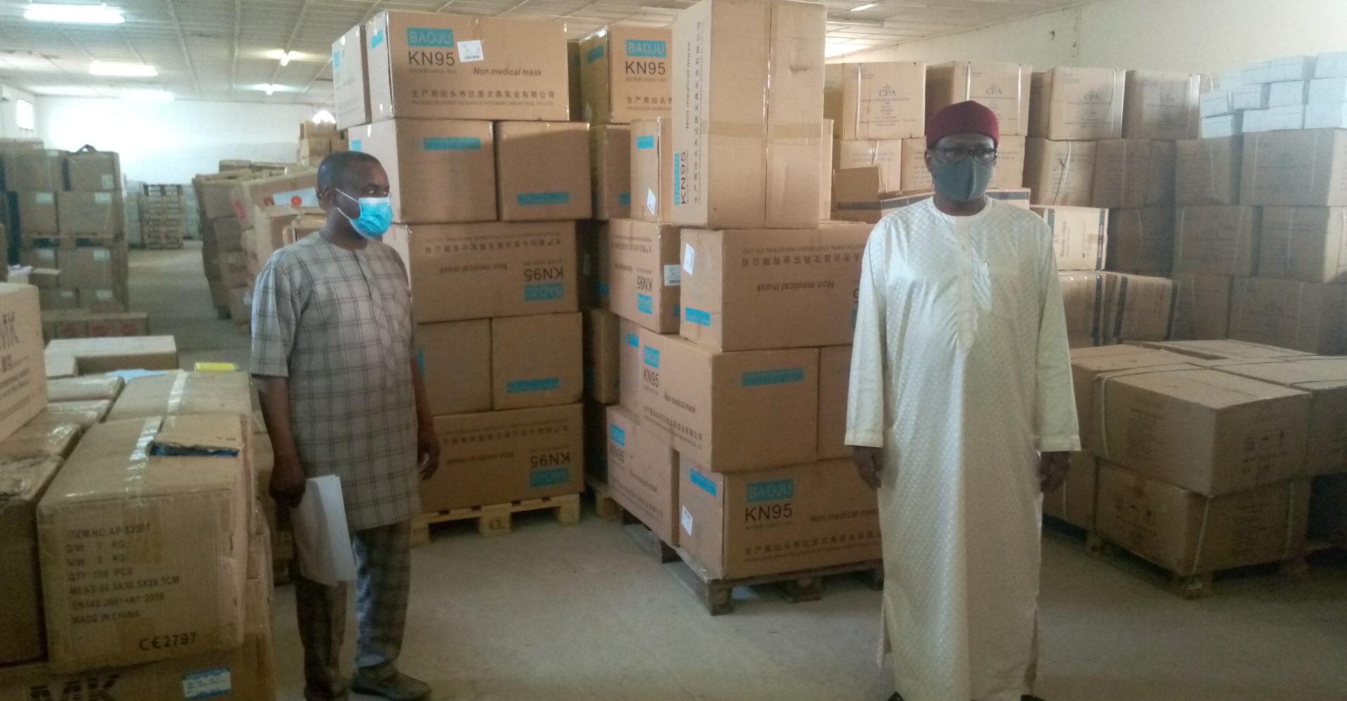 La Cpa réceptionne les équipements et matériels médicaux commandés par le Tchad 1