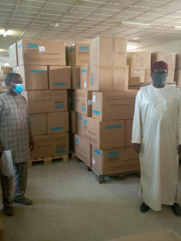 La Cpa réceptionne les équipements et matériels médicaux commandés par le Tchad