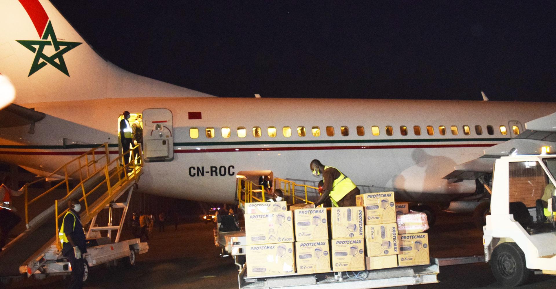 Le Roi Mohammed VI offre 75.000 boîtes de chloroquine et 15.000 boites d'Azithromycine au Tchad 1