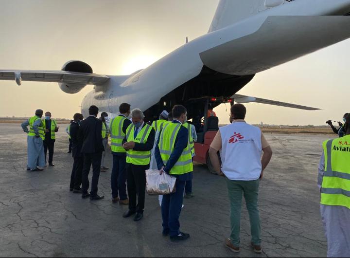 L'UE octroie cinq tonnes d'équipements de santé au Tchad 1