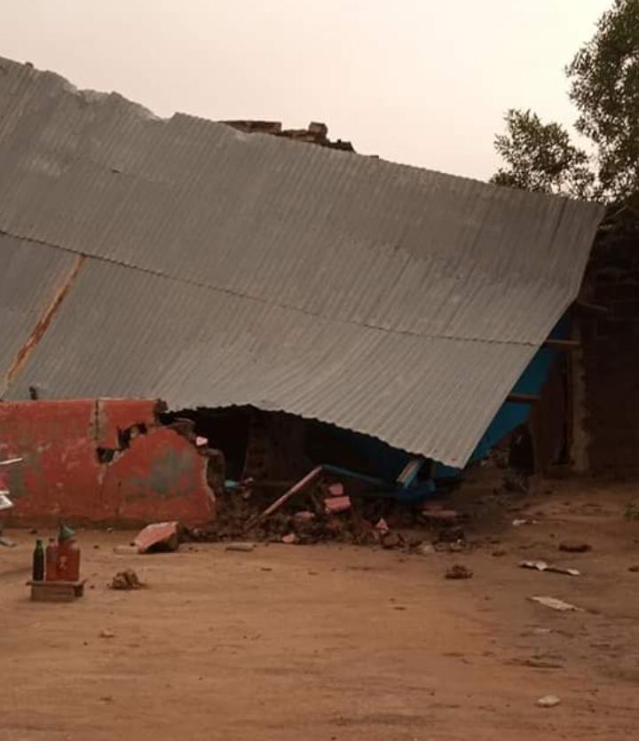 Une fillette perd la vie suite à la pluie de ce soir à N'Djaména 1
