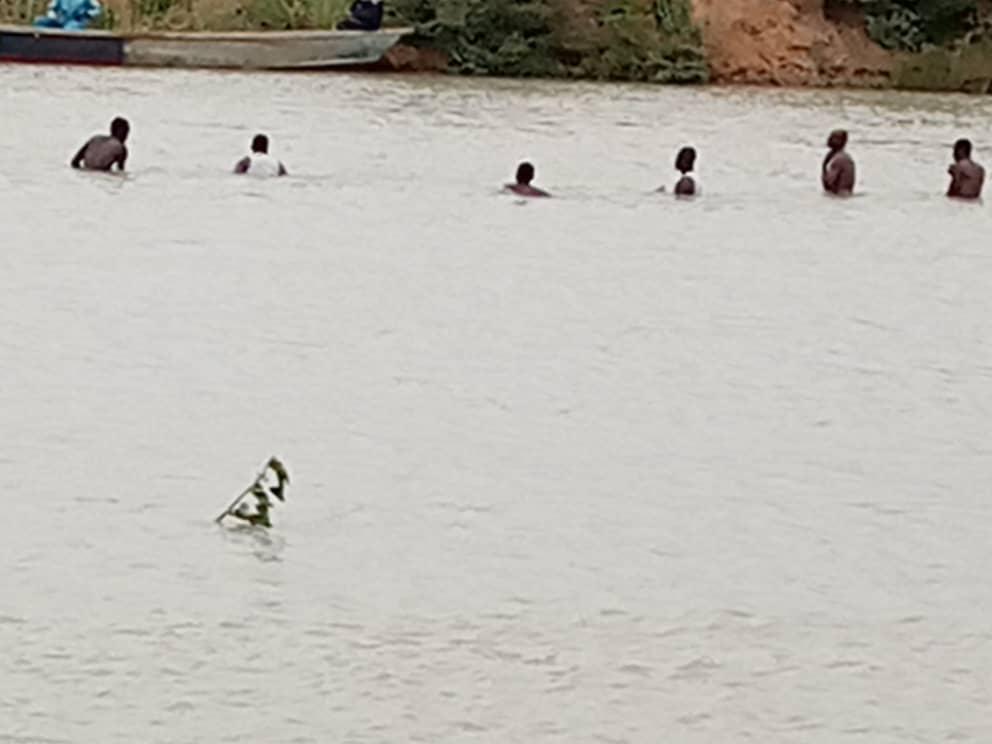 Une pirogue chavire au niveau de Mandjafa 1