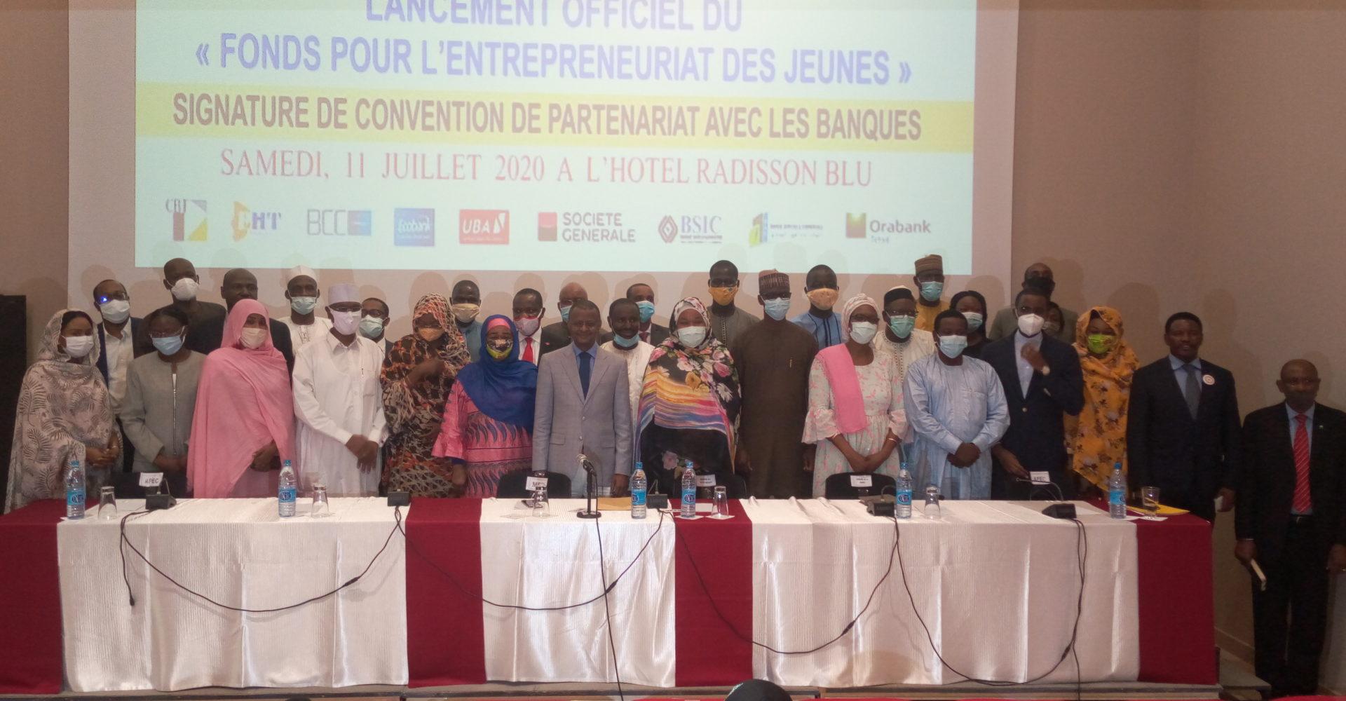 Lancement officiel du fonds pour l'entrepreneuriat des jeunes 1