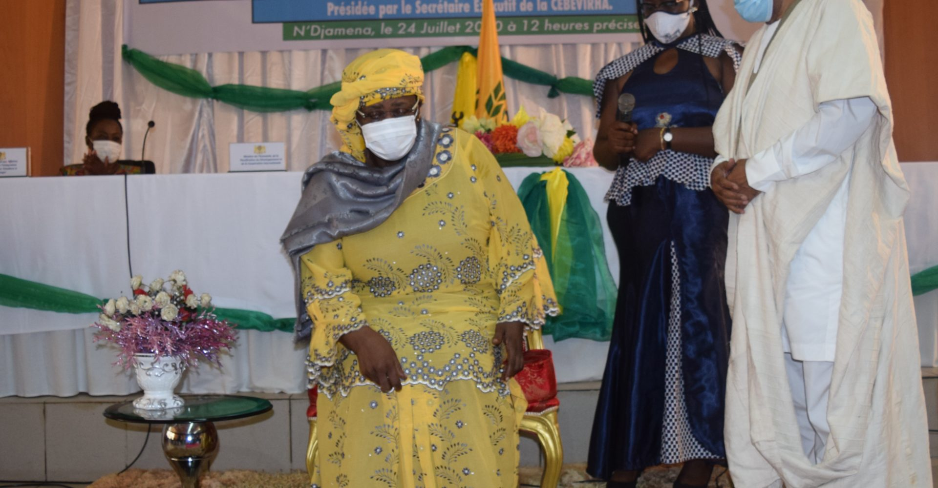 Ngarmbatna O. Soukate officiellement installée dans ses fonctions de représente résidente de la Cemac au Tchad 1