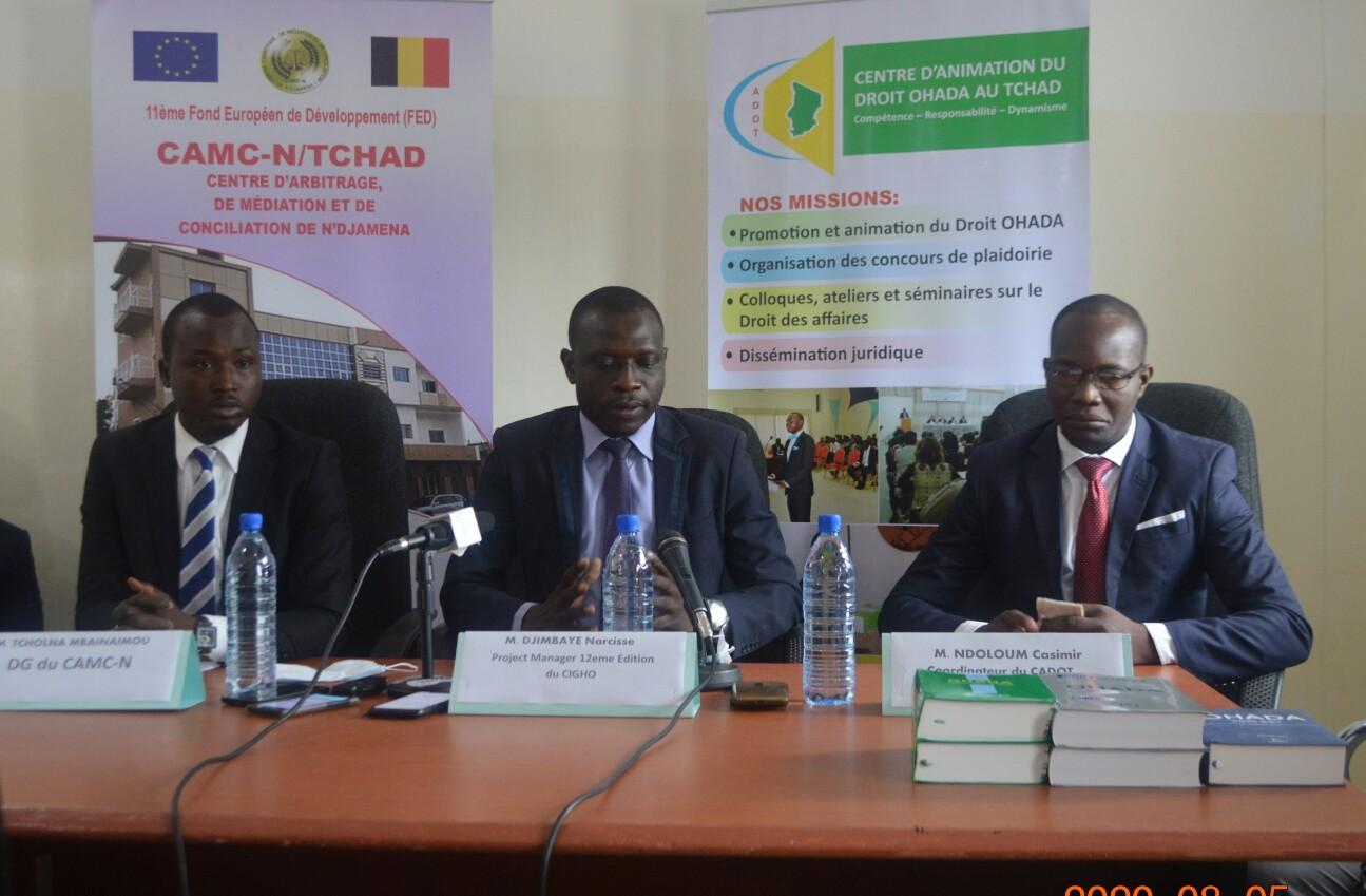 Accord de partenariat entre CAMC-N et le CADOT 1