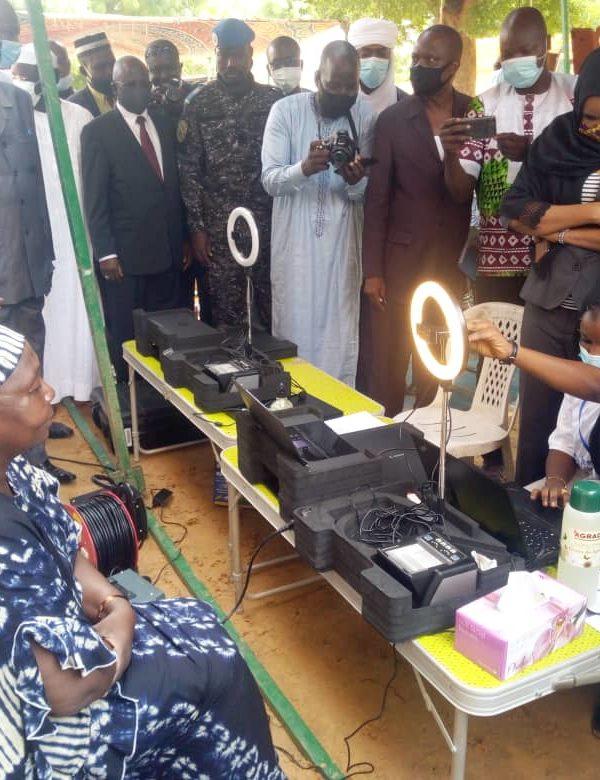 La Ceni lance la phase pilote de l'enrolement biométrique