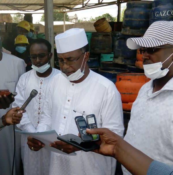 Il n'y a pas la raréfaction de gaz: Kodou Choukou Tidjani, Dg de l'Arsat