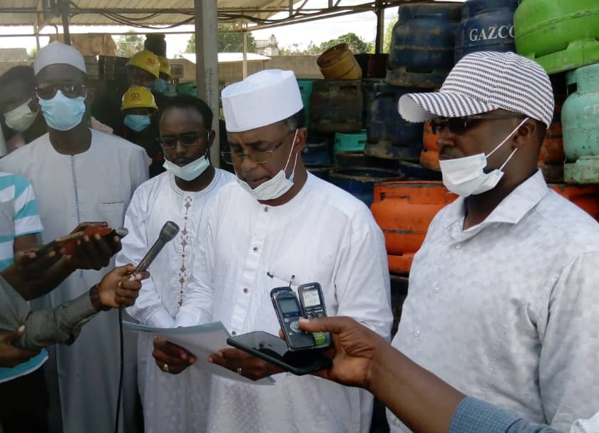 Il n'y a pas la raréfaction de gaz: Kodou Choukou Tidjani, Dg de l'Arsat 1