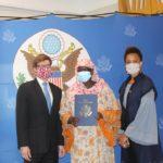 La Fondation Brother's Brother fait un don de matériels médicaux à l'Hgrn 3