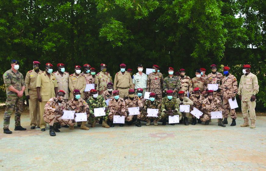 Des militaires tchadiens formés en mise en œuvre des explosifs 1