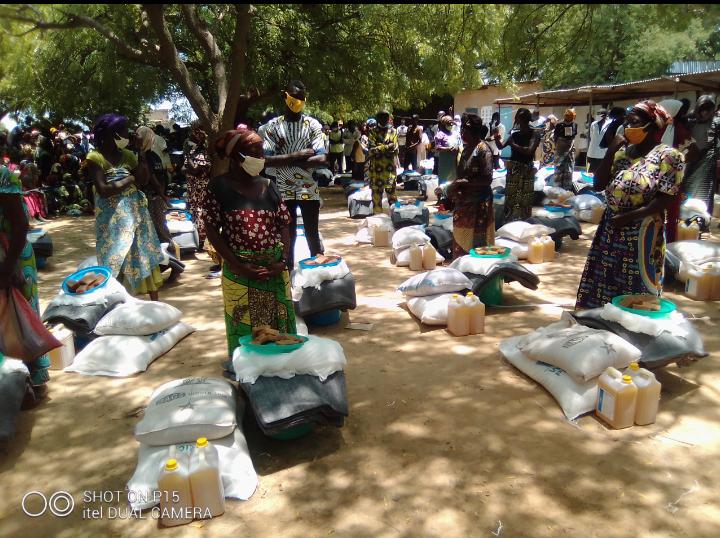 Le gouvernement et ses partenaires volent au secours des sinistrés de Kabé 1