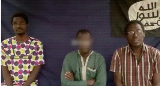 Les ex otages de Boko Haram décorés 1