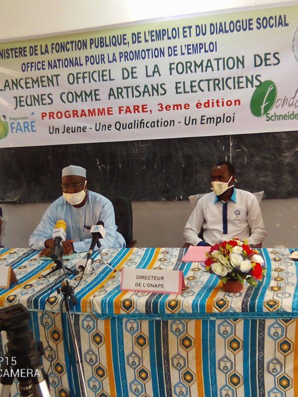 L'Onape et ses partenaires lancent la 3ème session de formation des jeunes électriciens