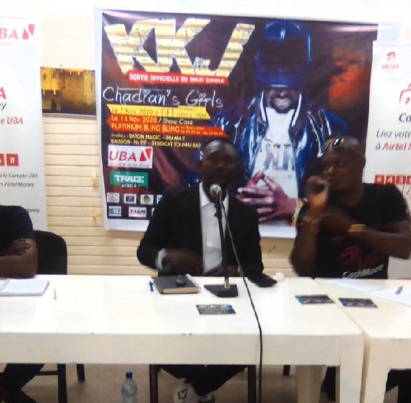 KKJ présente son maxi single ''Chadian's Girls''