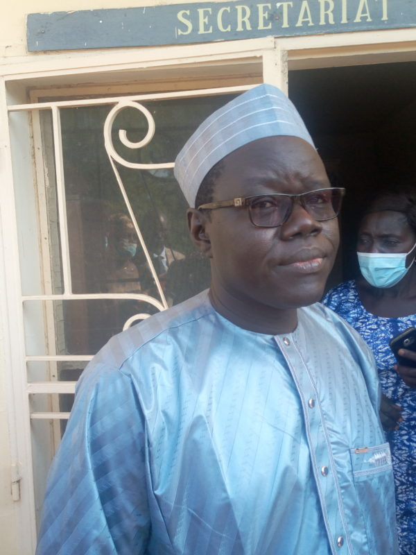 Brahim Wang-Laouna Foullah dépose sa canditature pour la présidence de la Ftfa