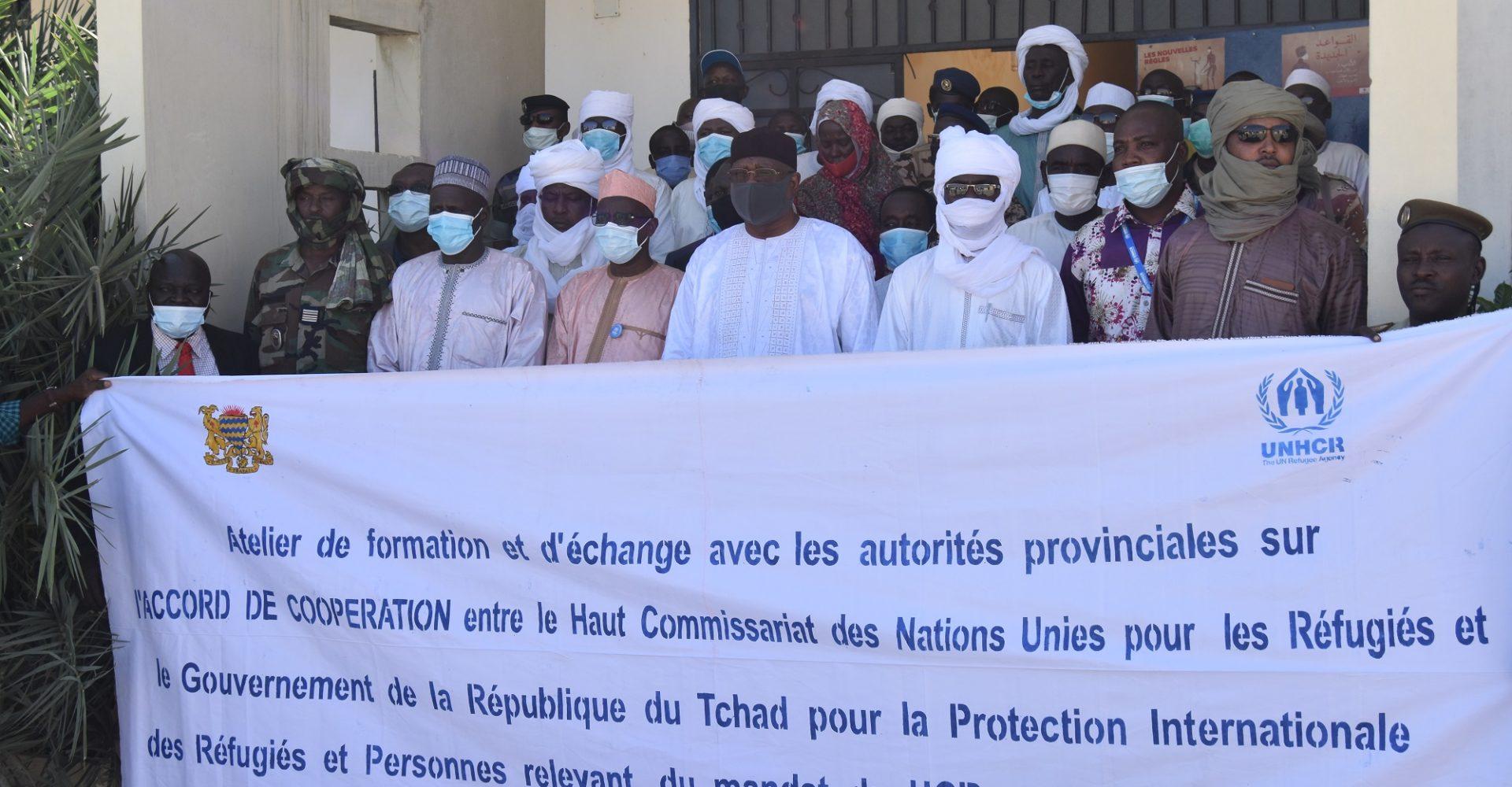Le Hcr sensibilise sur l'accord de coopération qui le lie au Tchad 1