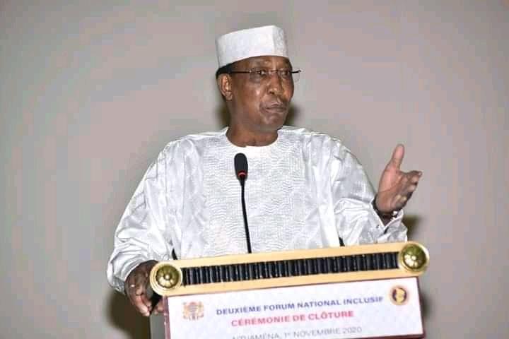 « Le Tchad est un héritage commun et chaque Tchadien a le devoir sacré de contribuer à l'œuvre de la cohésion (...) et du développement»: Idriss Déby Itno 1